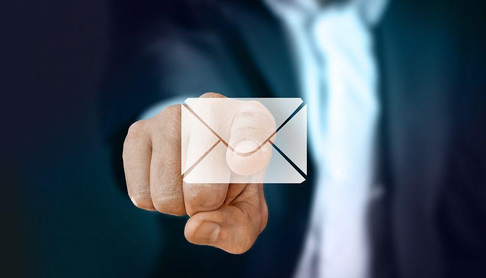 Mail de recrutement