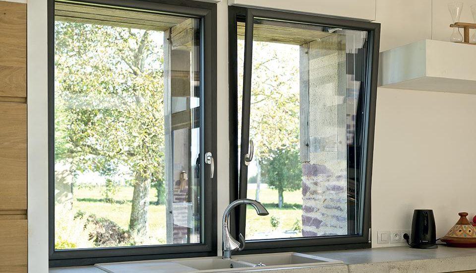 Fenêtre aluminium pour l'isolation