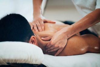 Un massage thérapeutique