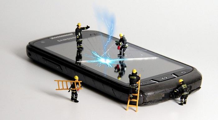 La réparation de téléphone